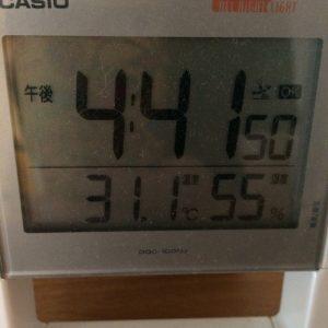 室内温度写真